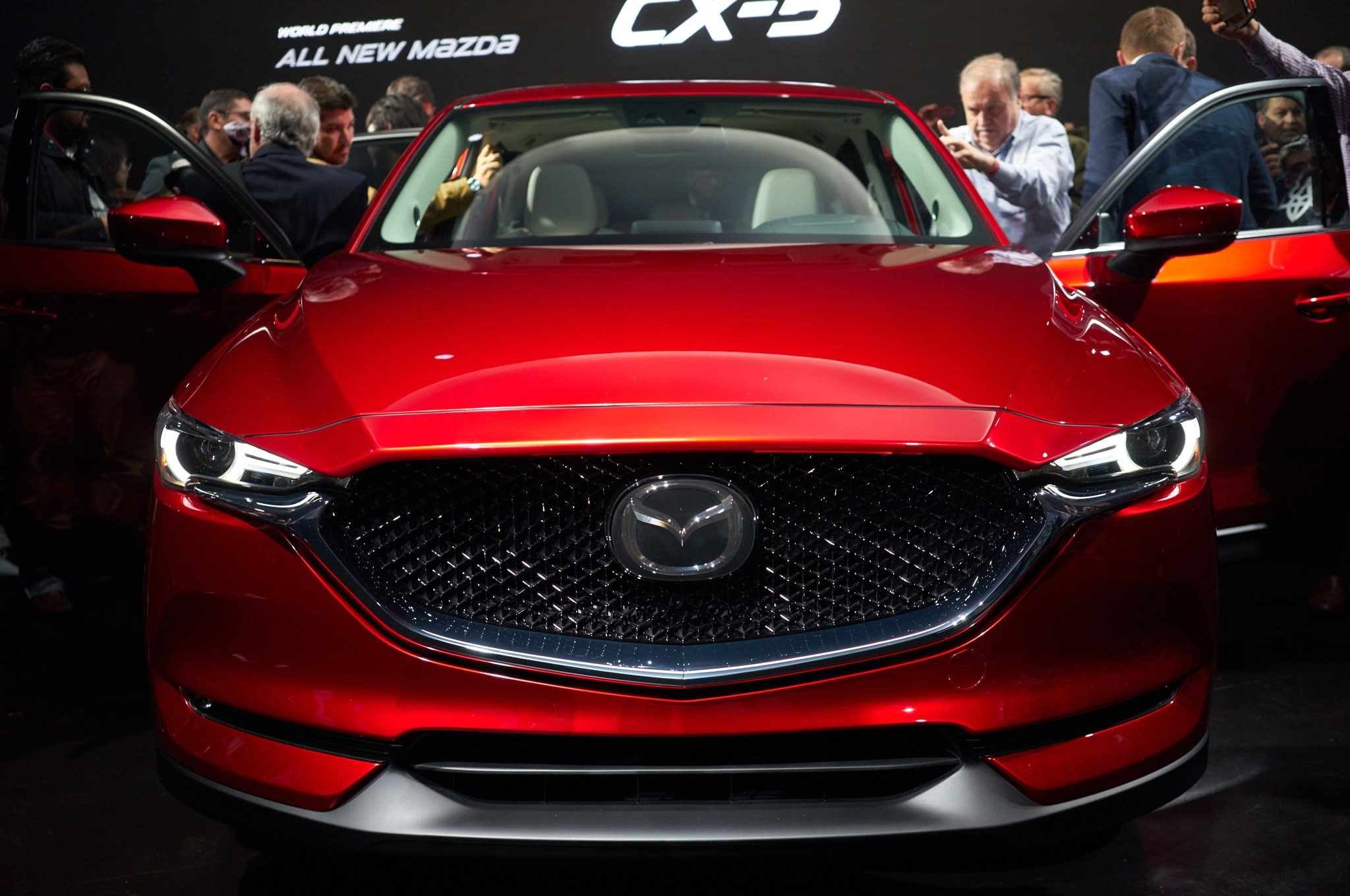 2017 Mazda CX 5 front view