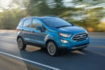 2018 Ford EcoSport Front Three Quarter In Motion 02 150x100
