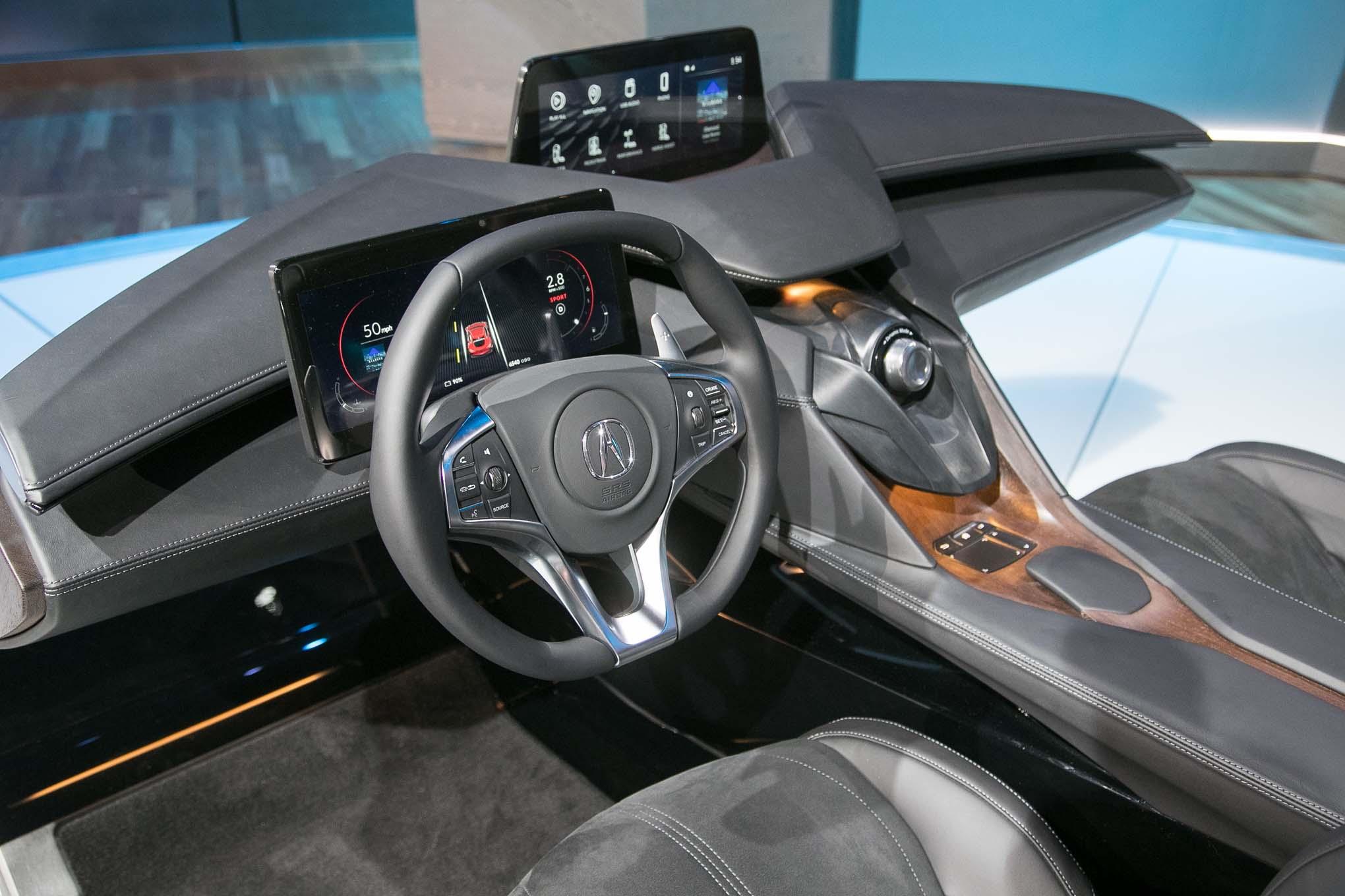 Acura Precision Cockpit Concept Interior 02