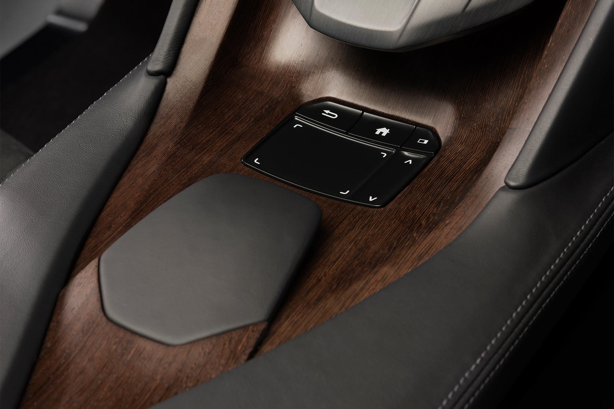 Acura Precision Cockpit concept touchpad