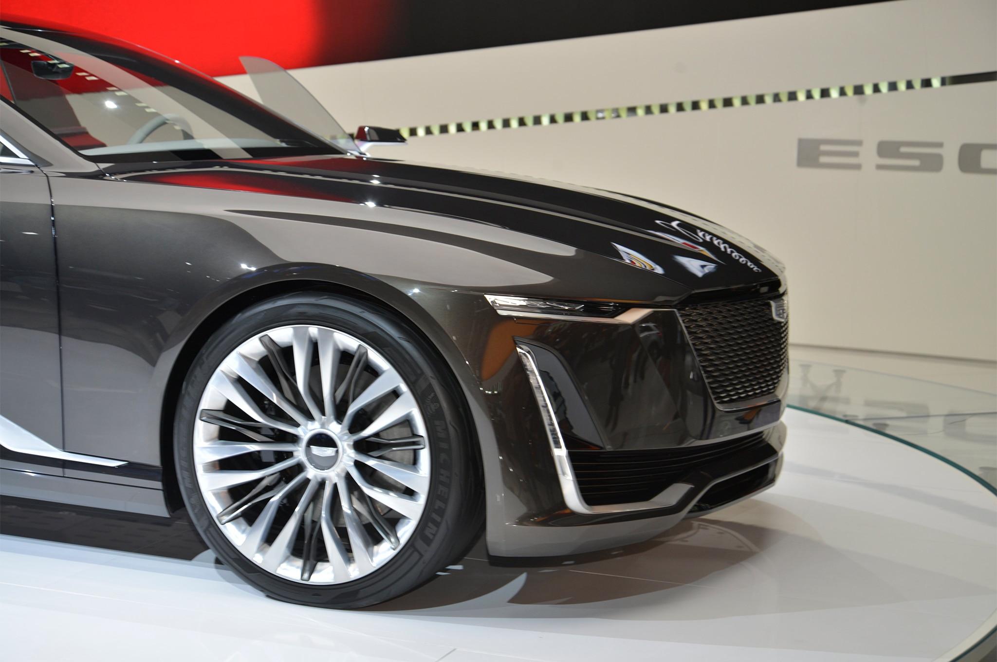 Cadillac Escala concept front wheels
