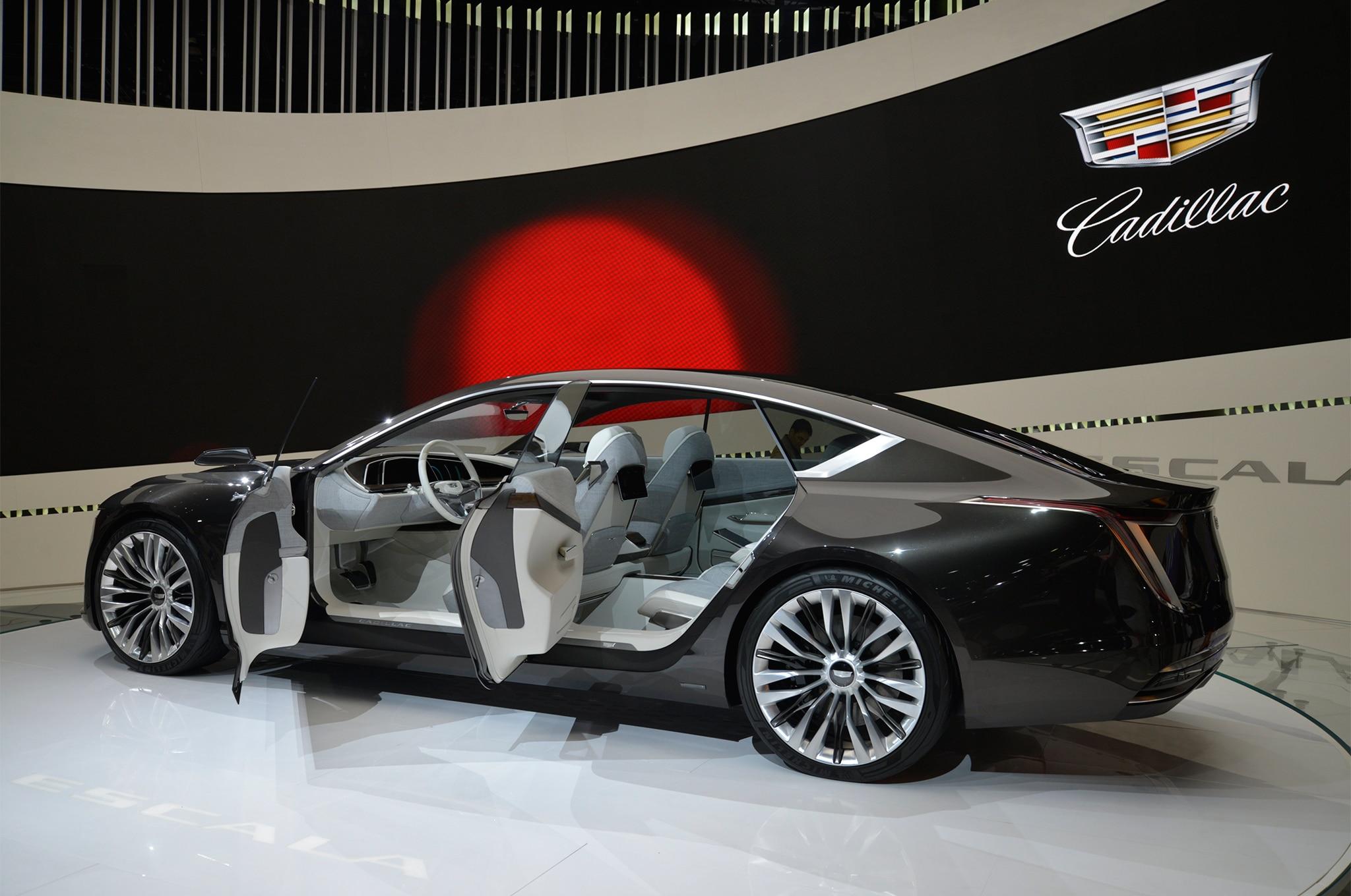Cadillac Escala concept rear three quarter