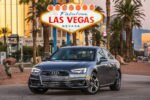 2017 Audi A4 With Traffic Light Information Las Vegas Sign 150x100