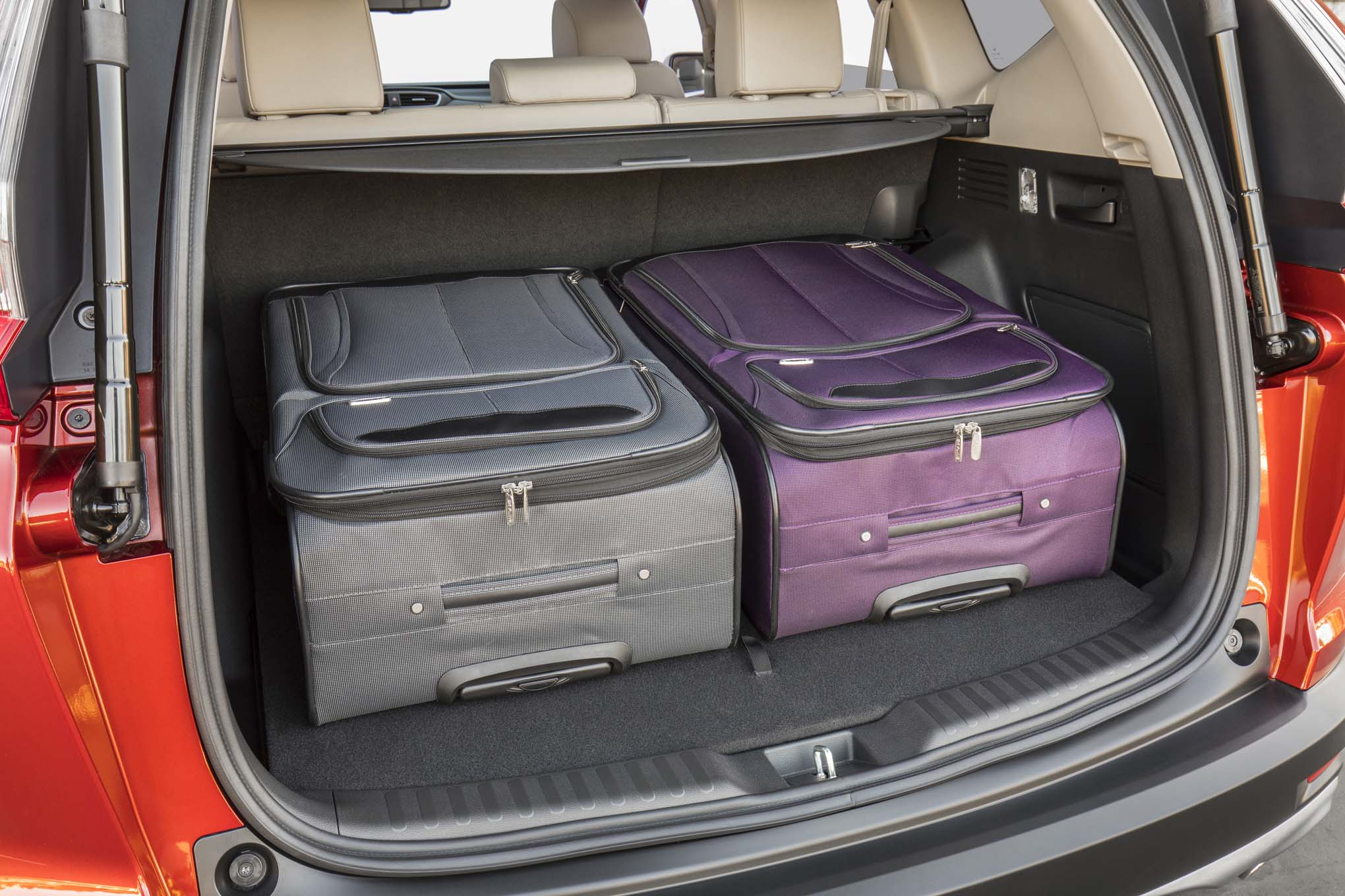 2017 Honda CR V cargo space