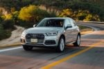 2018 Audi Q5 Front Three Quarter In Motion 06 150x100
