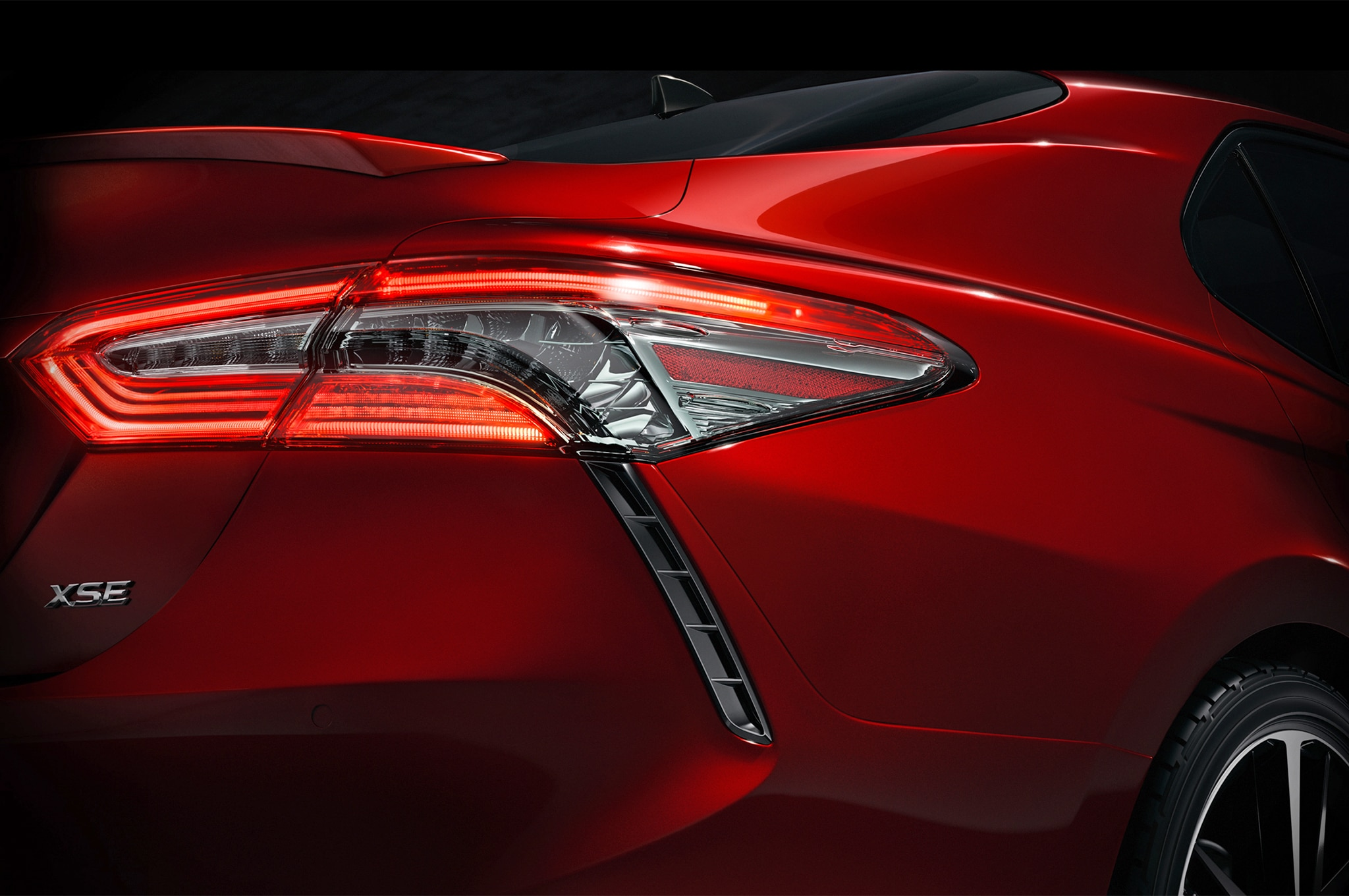 2018 Toyota Camry XSE Teaser