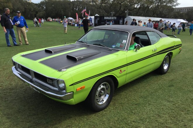 1971 Dodge Demon 340 front three quarter