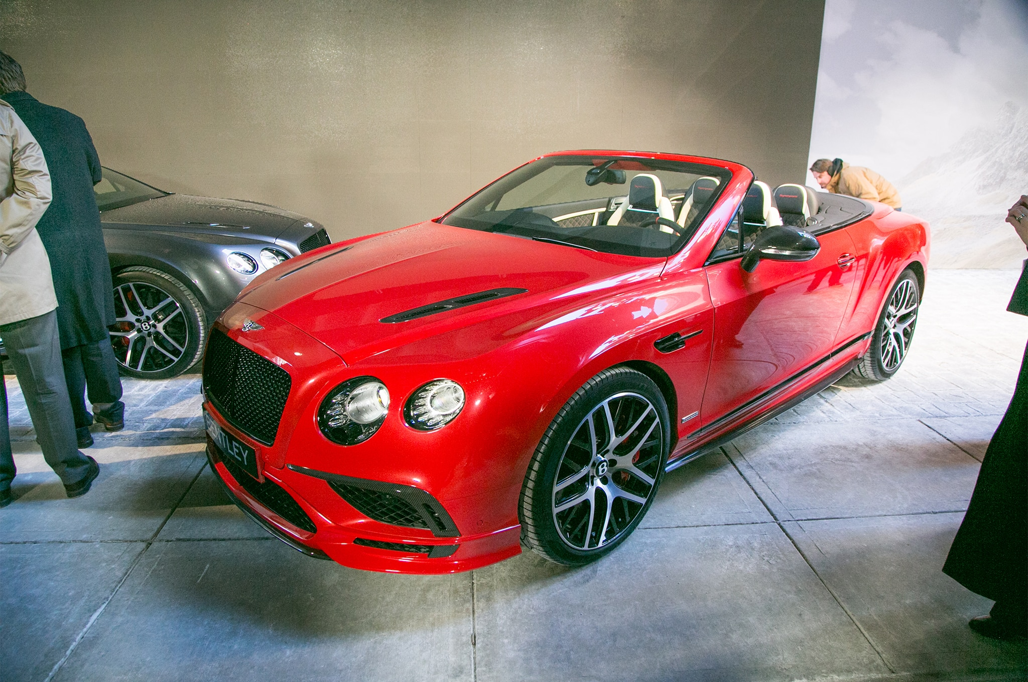 2017 Bentley Continental GT SuperSports Front Three Quarters