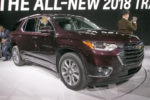 2018 Chevrolet Traverse Front Three Quarter 03 150x100