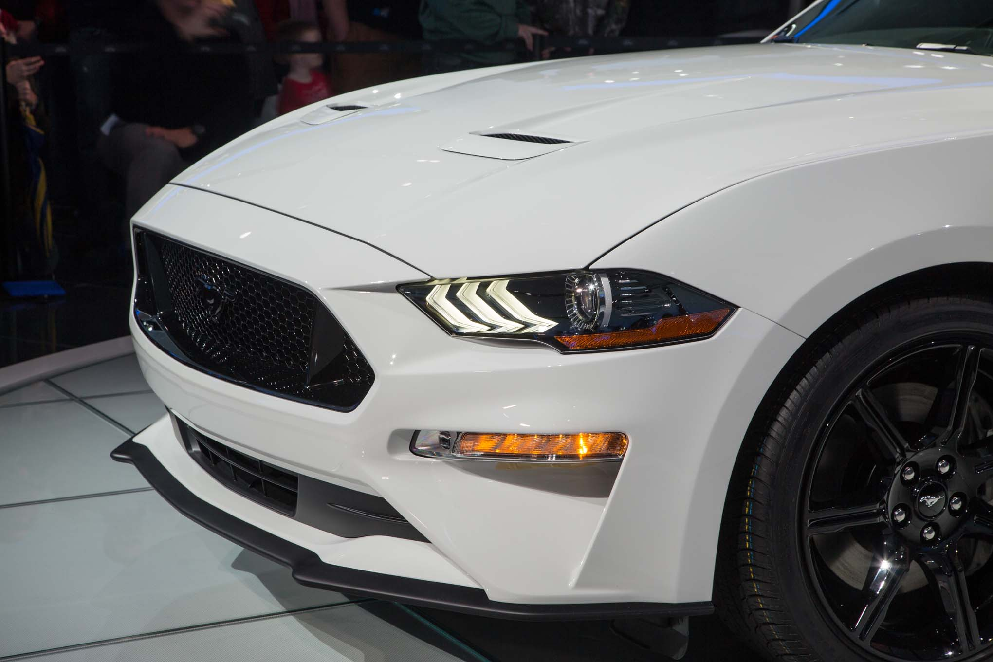 2018 Ford Mustang GT front quarter panel