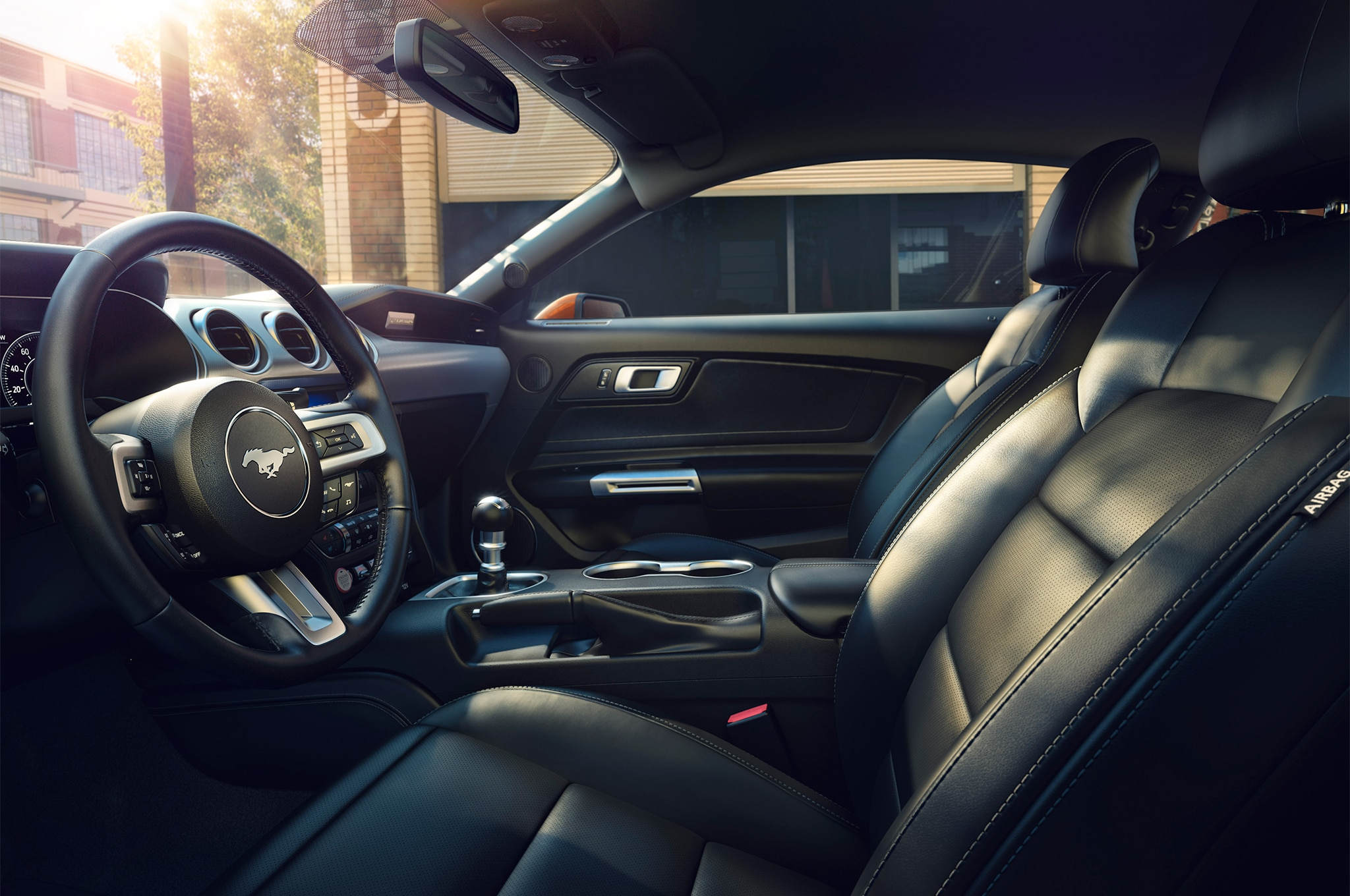 2018 Ford Mustang front interior