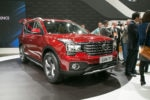 2018 GAC Trumpchi GS7 Front Three Quarter 1 150x100