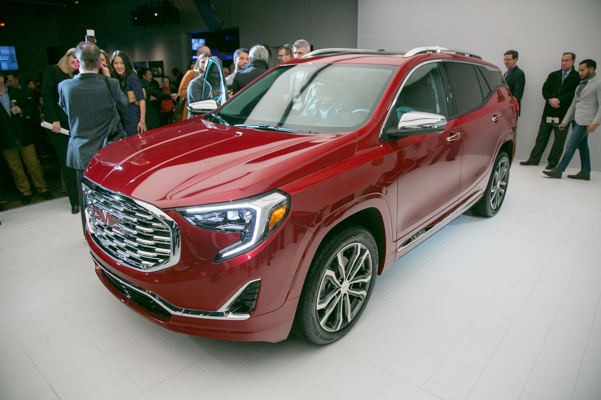 2018 GMC Terrain Front Three Quarter