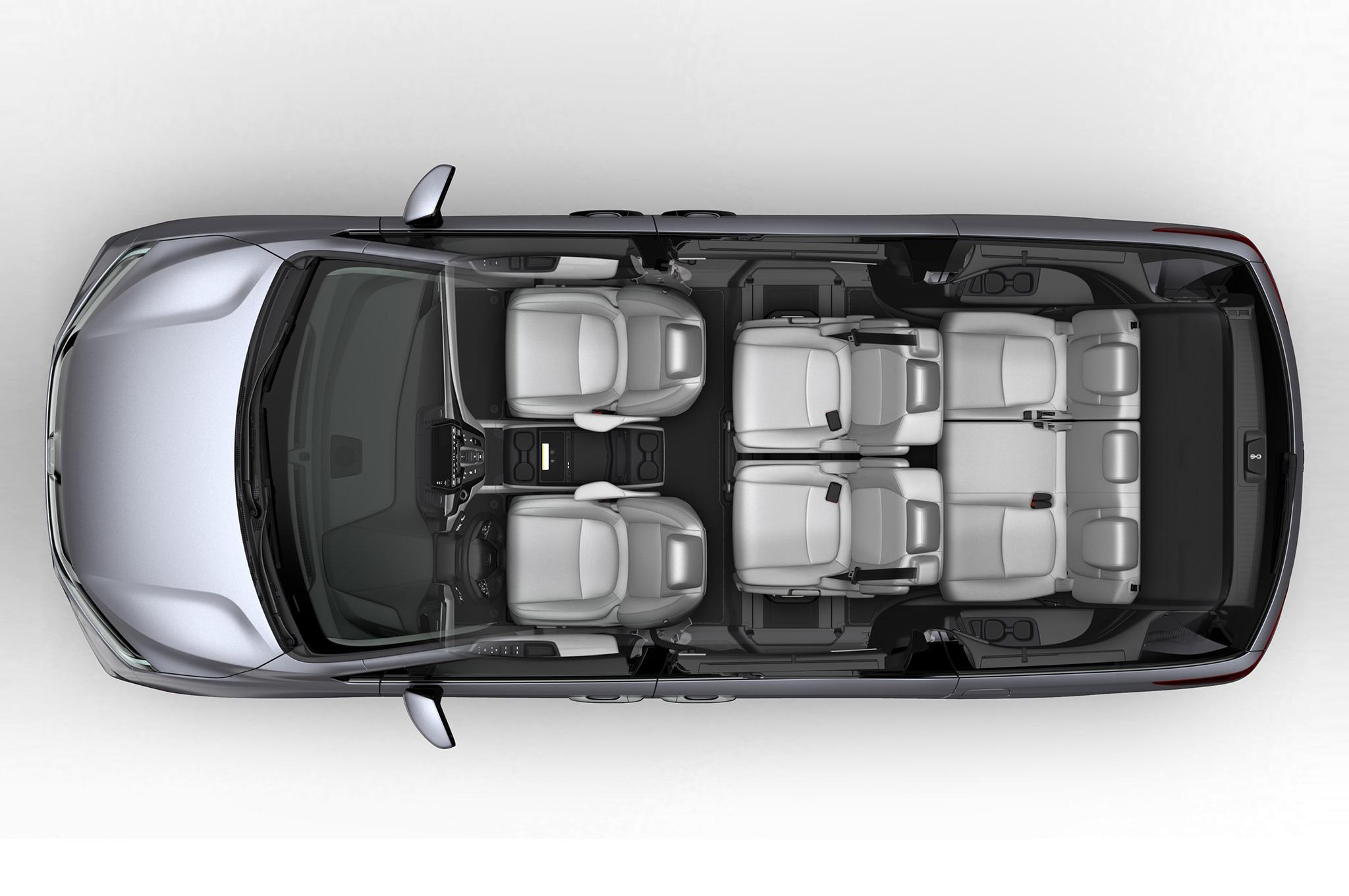 2018 honda odyssey interior top view 04 motor trend en espa ol 2018 honda odyssey touring elite interior