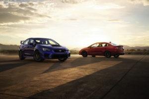 2018 Subaru WRX And Subaru WRX STI Together 300x199