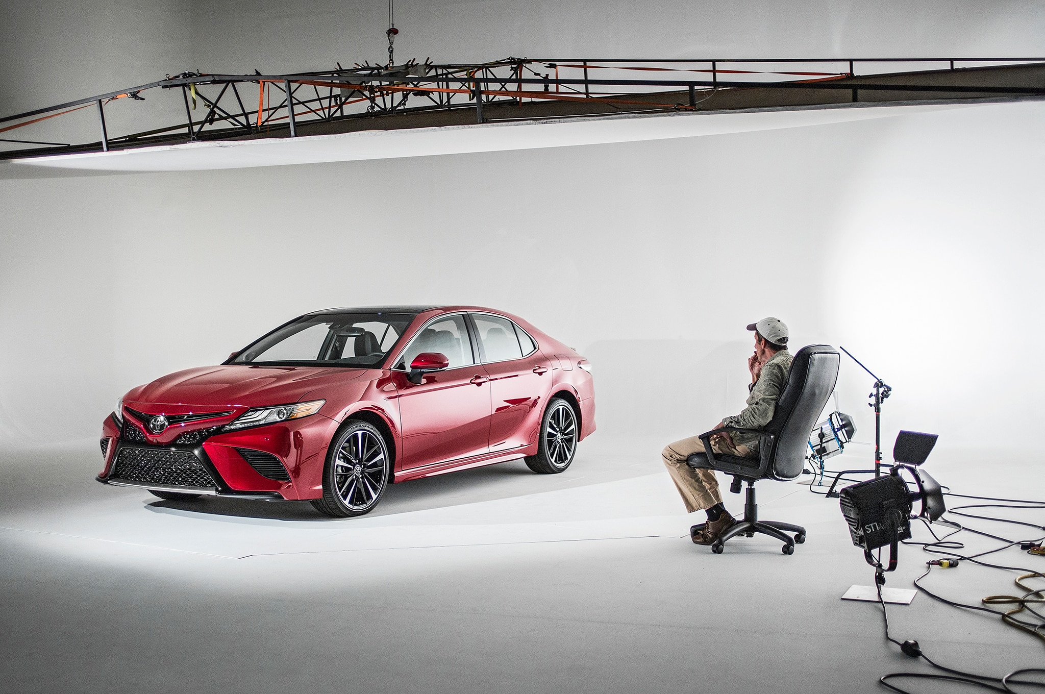 2018 Toyota Camry XSE design