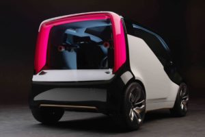 Honda NeuV Concept Rear Three Quarter 300x200