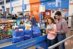 Walmart Check Out Line 150x100