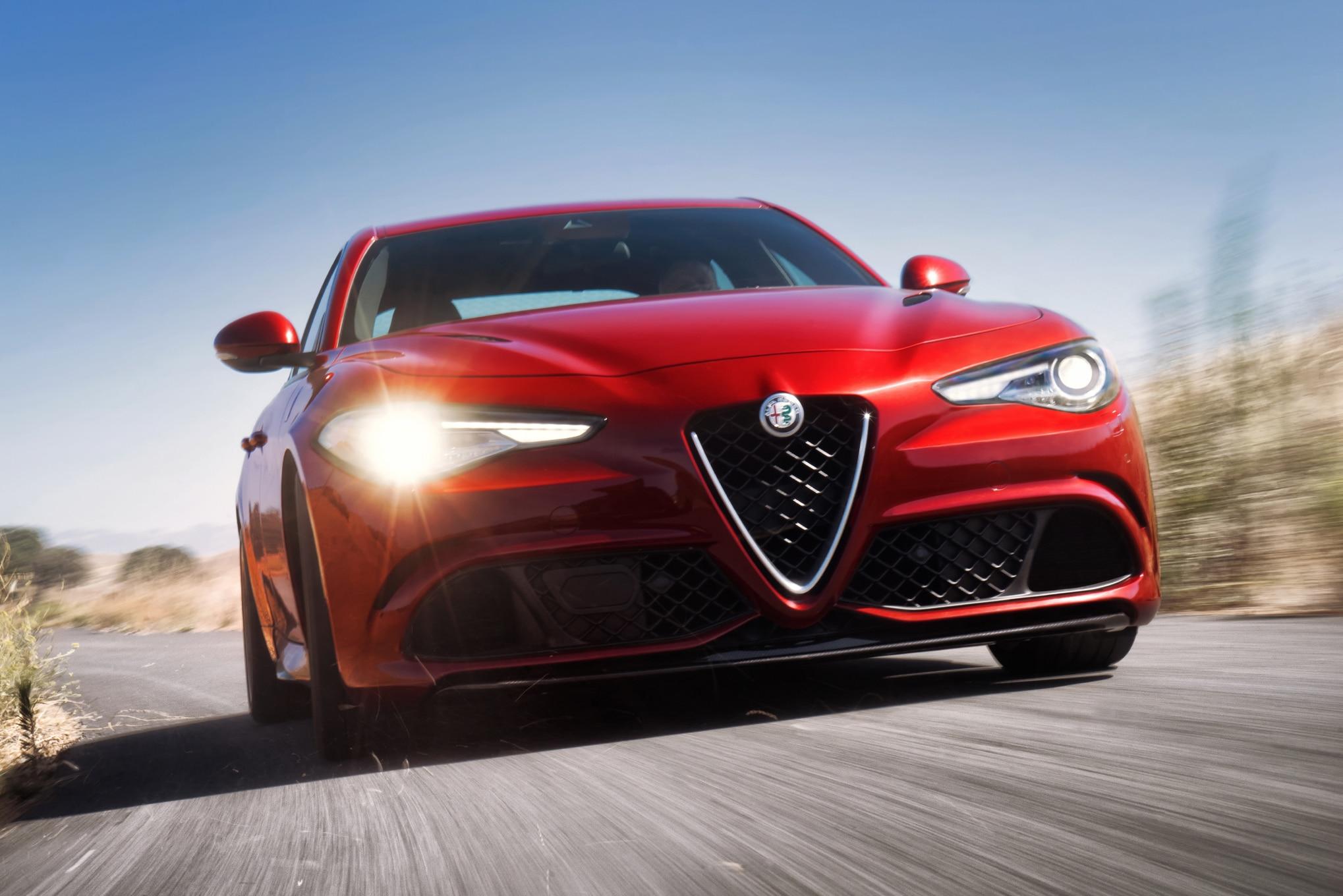 2017 Alfa Romeo Giulia Quadrifoglio Front End