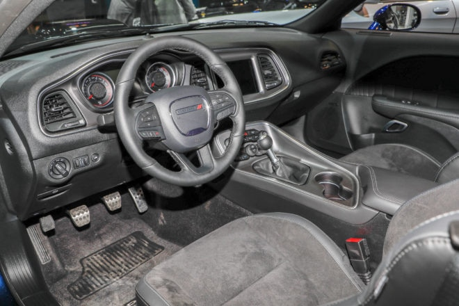 2017 Dodge Challenger by Mopar interior
