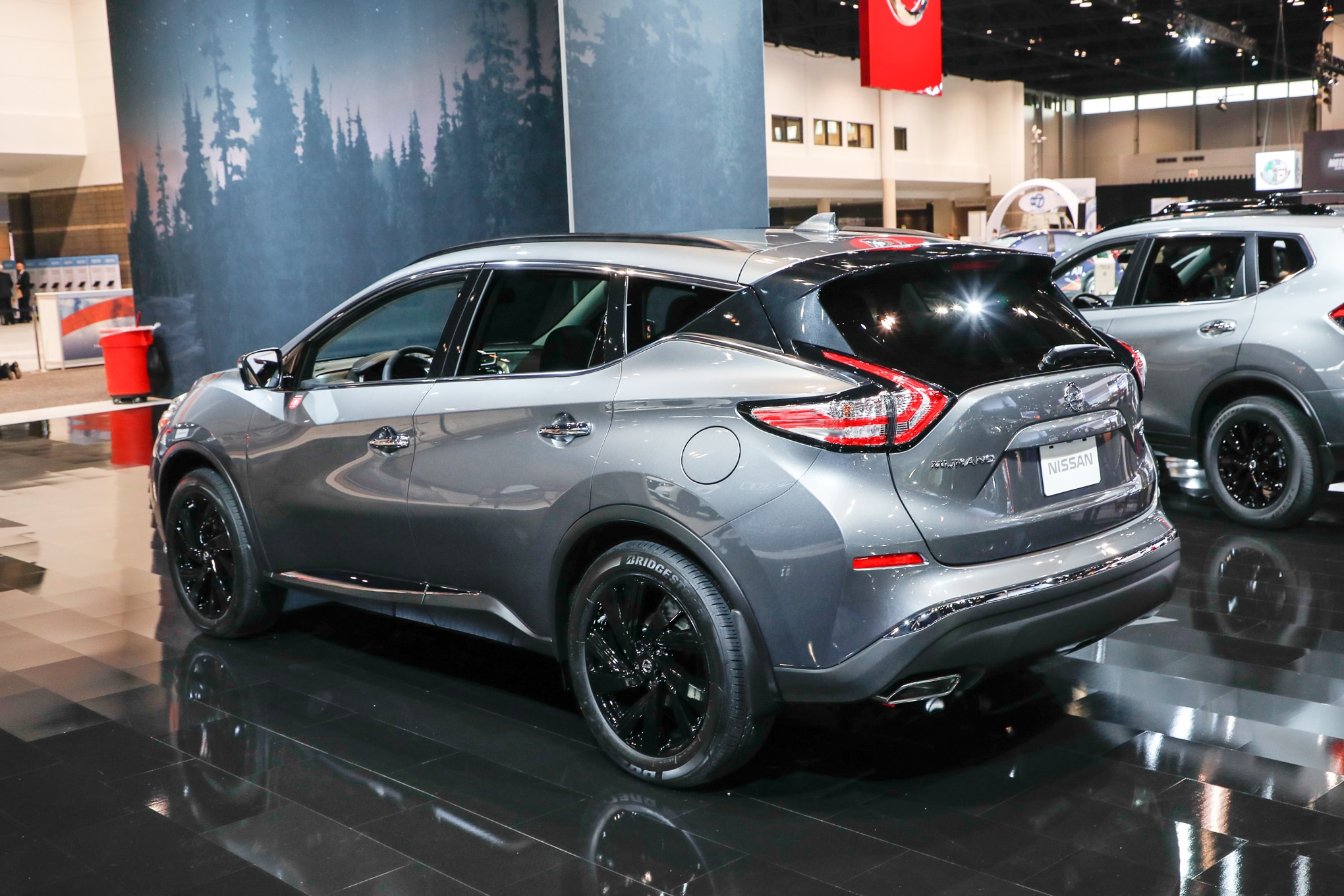2017 nissan murano platinum midnight edition rear three quarter 1 motor trend en espa ol. Black Bedroom Furniture Sets. Home Design Ideas