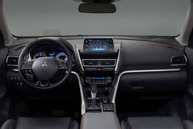 2018 Mitsubishi Eclipse Cross interior view
