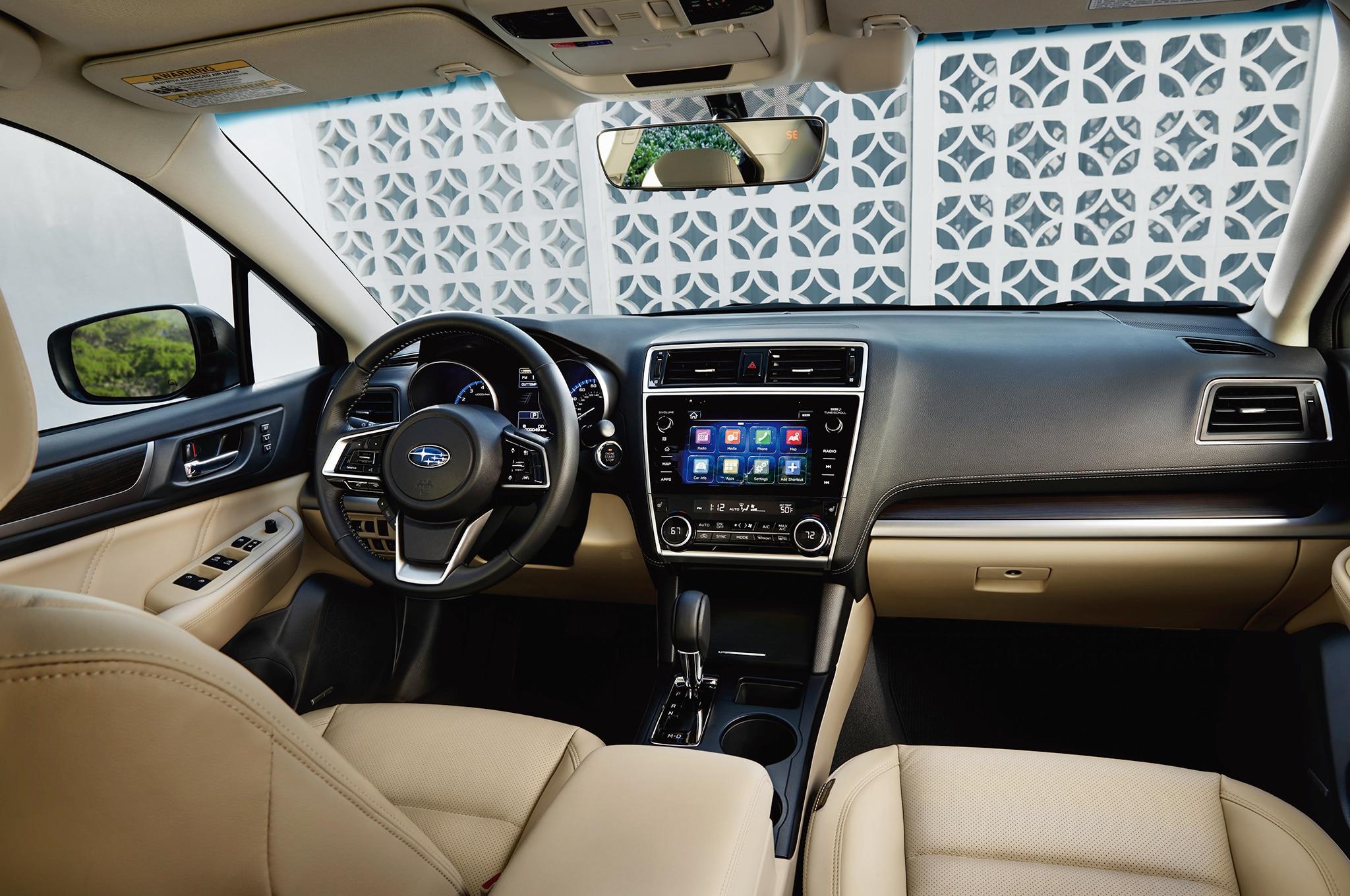 2018 Subaru Legacy interior