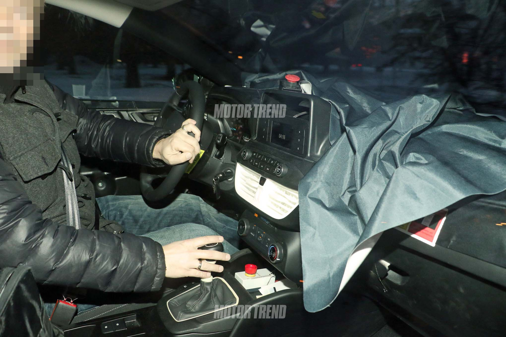 2019 Ford Focus ST prototype interior