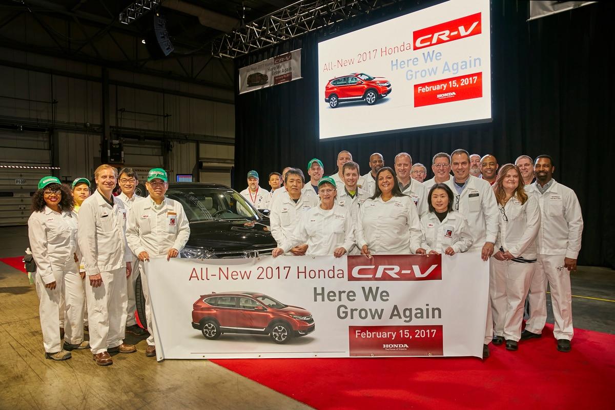 Honda CR V 2017 Production 2