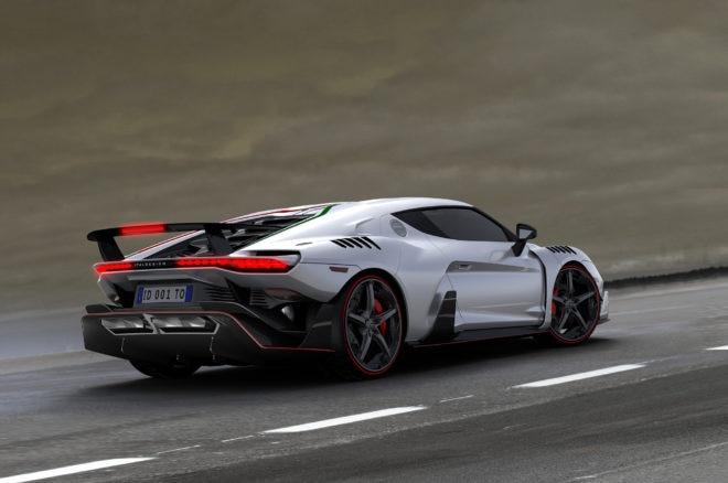 Italdesign Automobili Speciali Rear Three Quarters