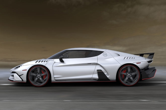 Italdesign Automobili Speciali Side