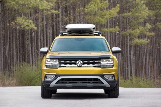 Volkswagen Atlas Weekend concept front end 02