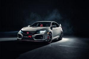 2017 Honda Civic Type R Front Three Quarter 2 300x199