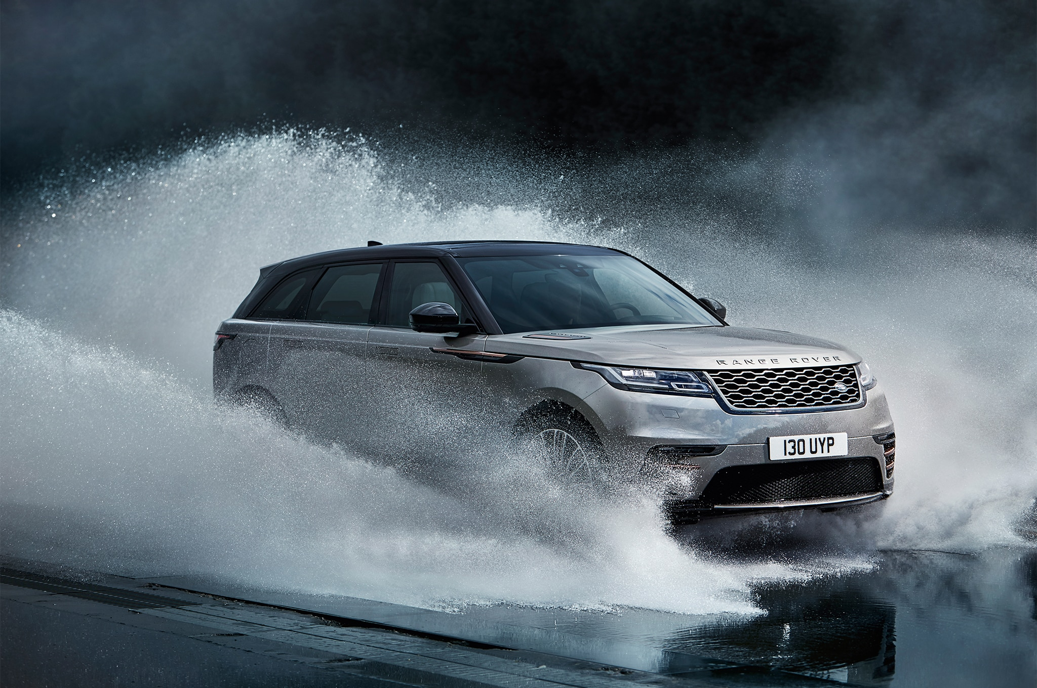 2018 Land Rover Range Rover Velar Front Three Quarter In Water