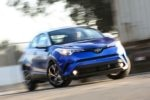 2018 Toyota C HR Front End In Motion 150x100