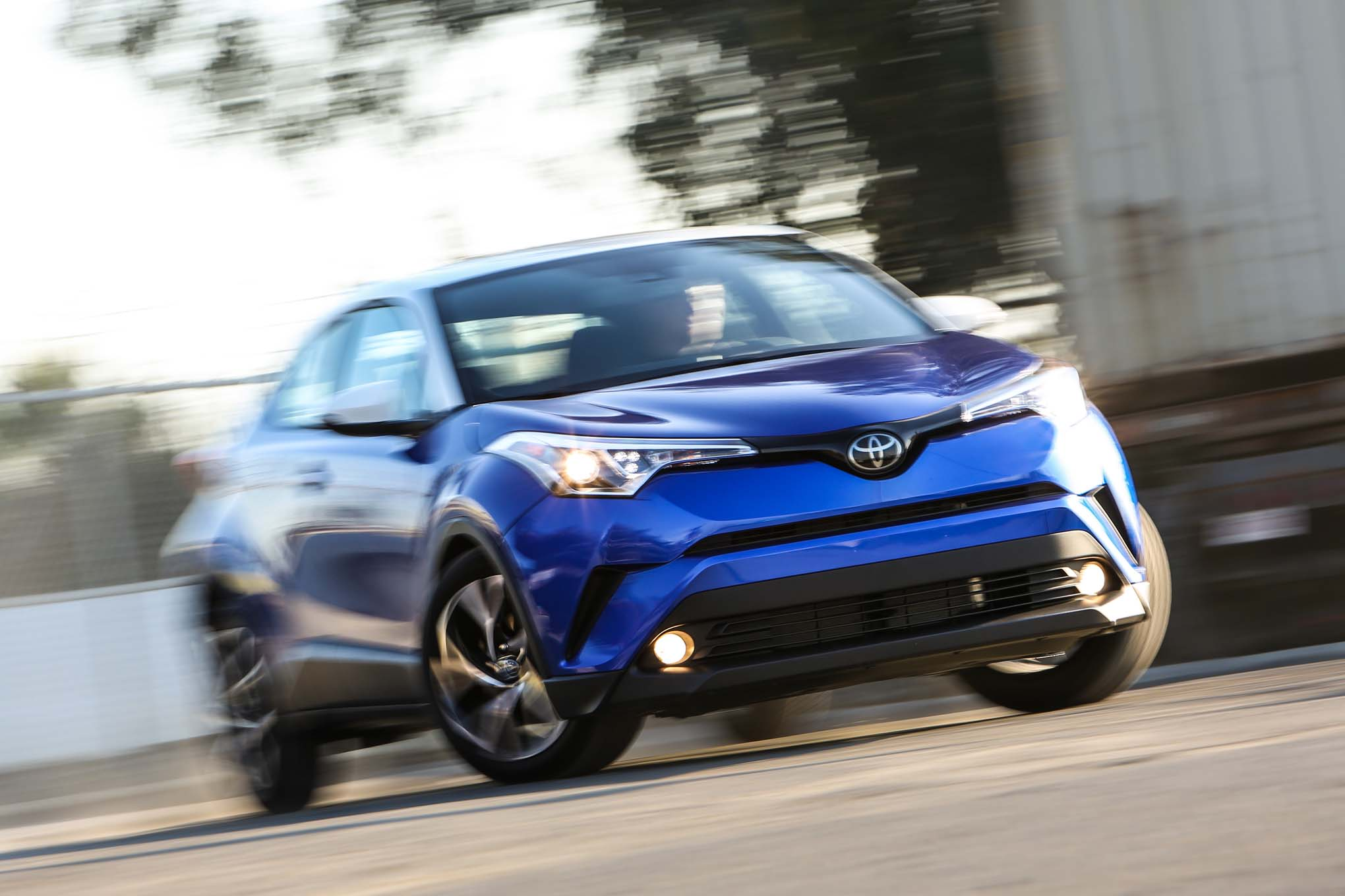 2018 Toyota C HR Front End In Motion