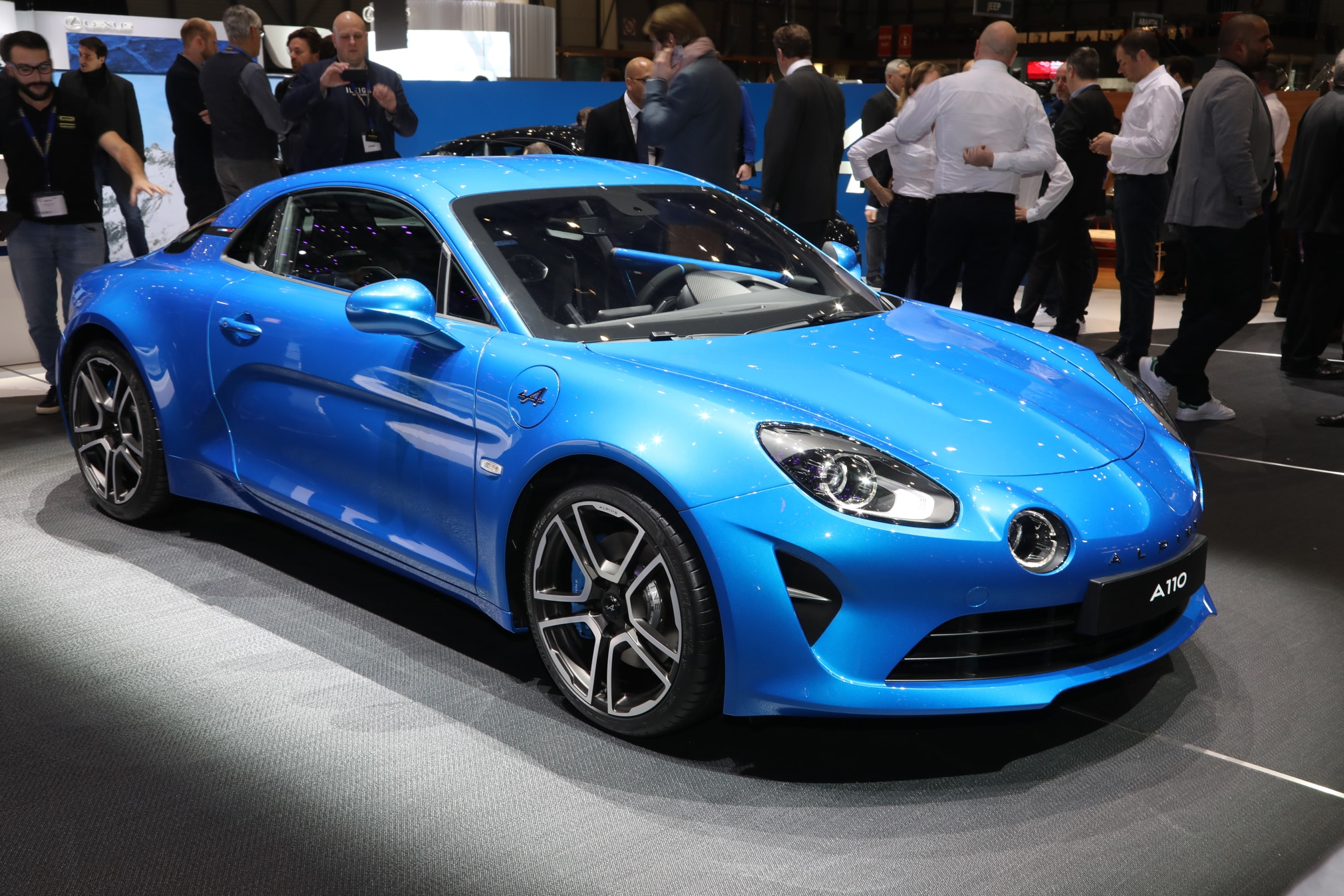 Alpine A110 front three quarter 03