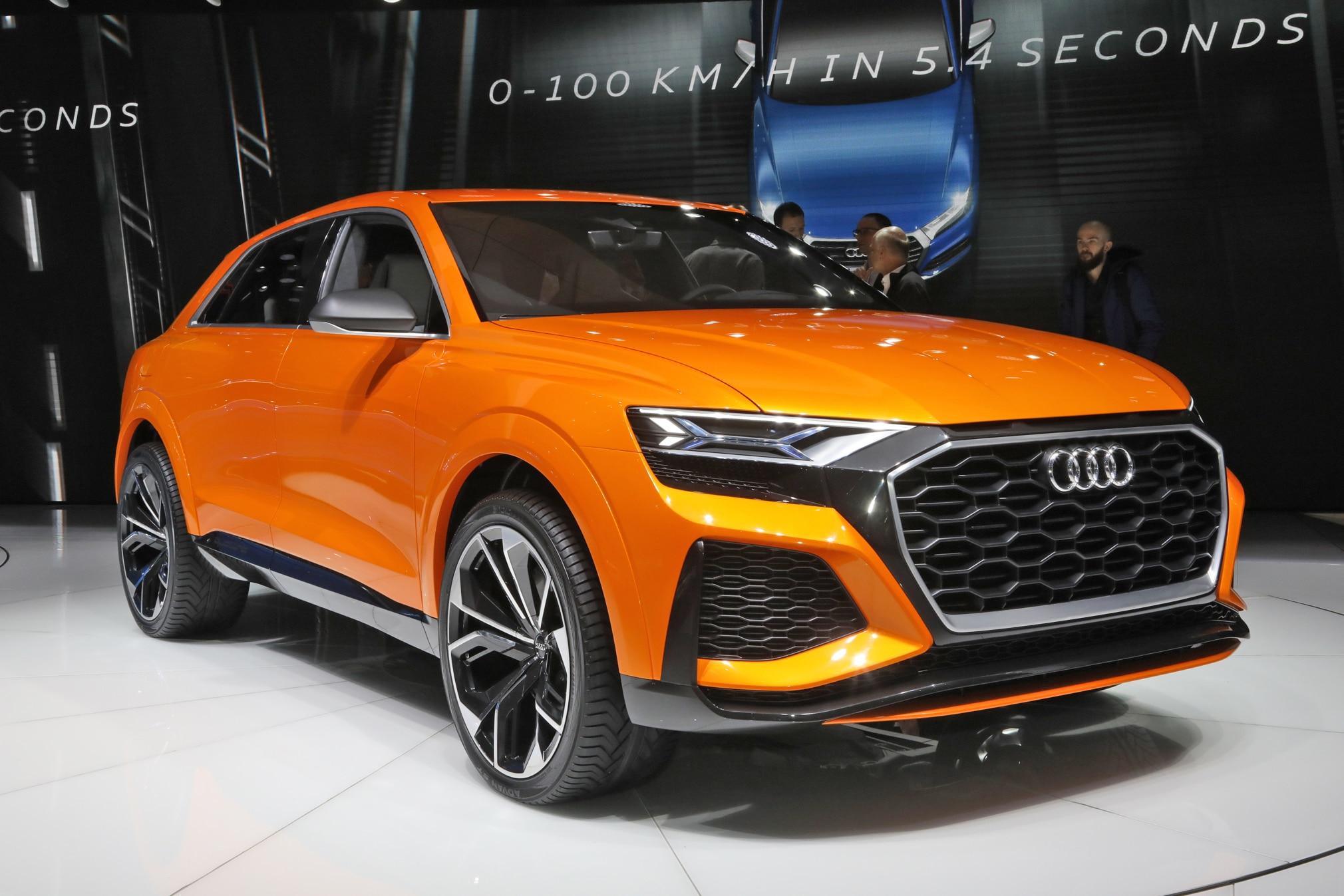 Audi Q8 Sport Concept Front Three Quarter