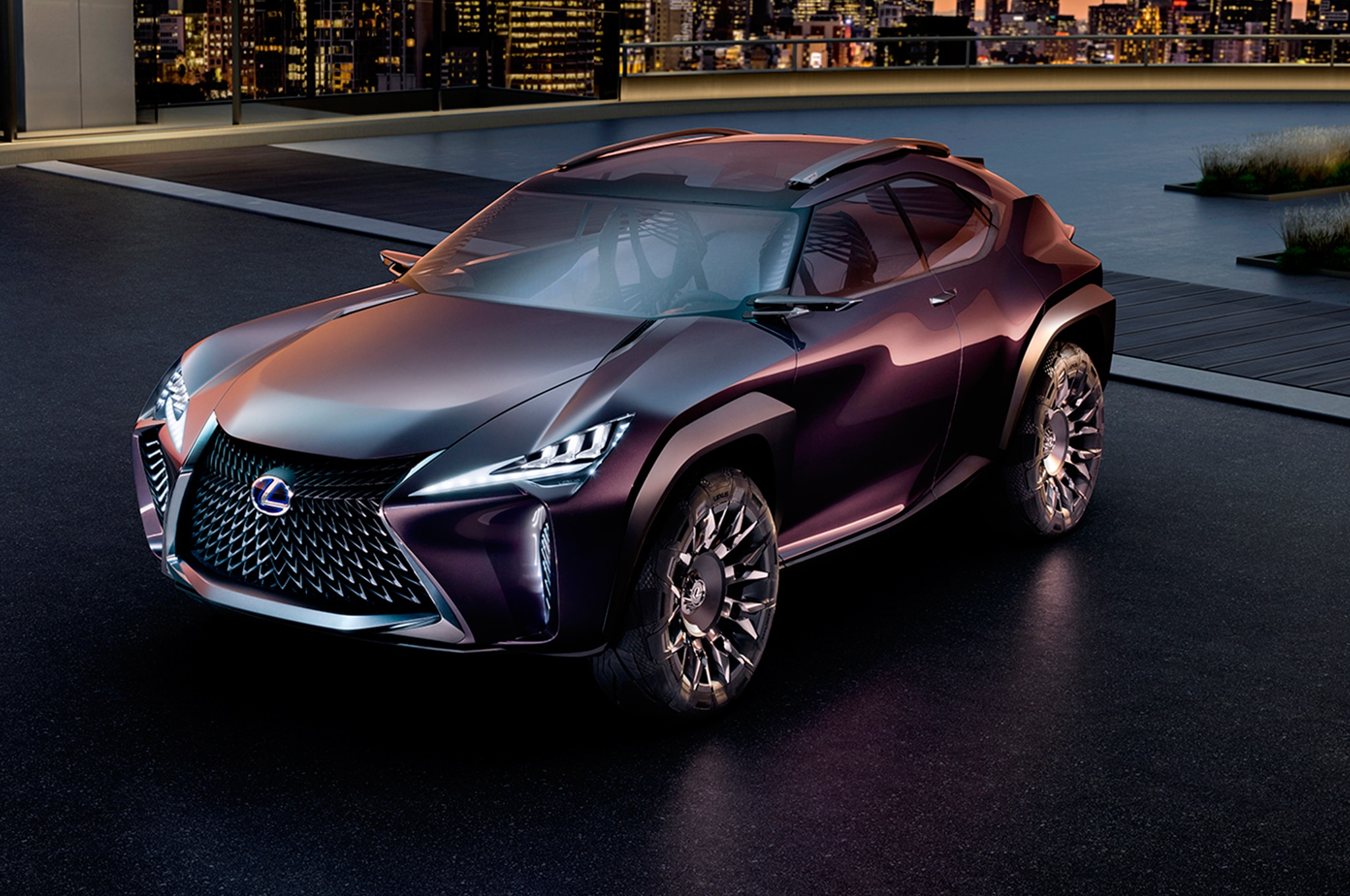 Lexus UX Concept Front Three Quarter