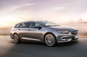 Opel Insignia Sports Tourer Front Three Quarter In Motion 300x199