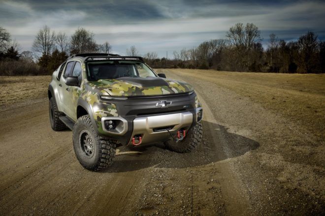 002 tardec chevrolet colorado zh2 hydrogen fuel cell