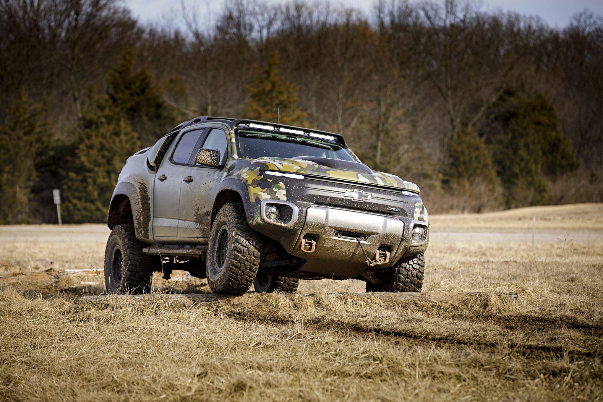 019 Tardec Chevrolet Colorado Zh2 Hydrogen Fuel Cell