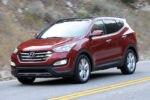 2014 Hyundai Santa Fe Sport Front Three Quarter Road2 150x100