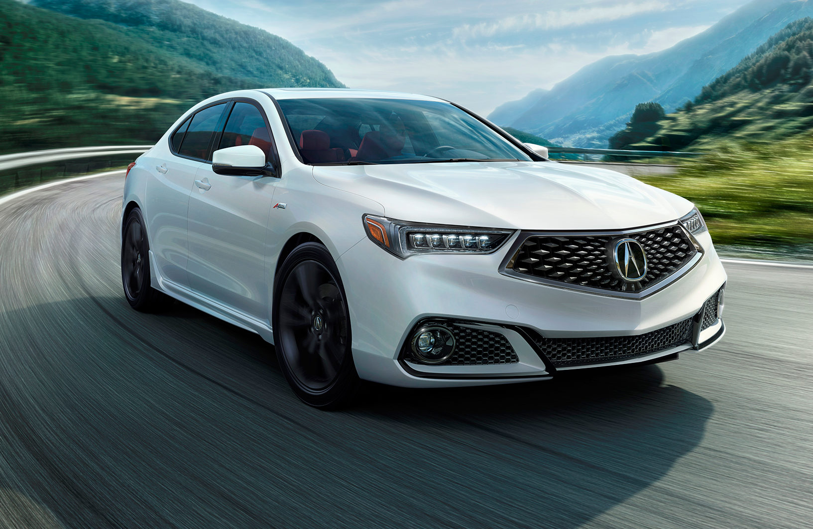 2018 Acura TLX Front Three Quarter In Motion E1491492646313