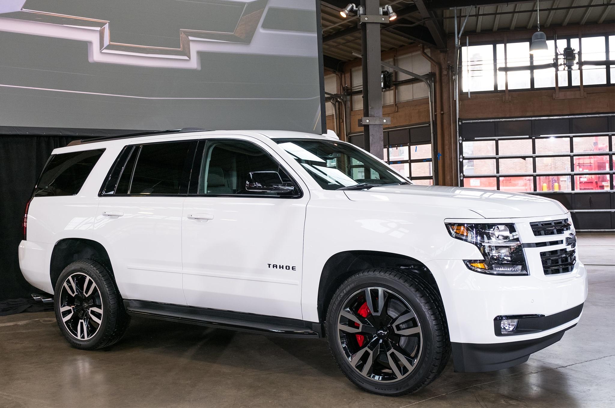 Chevrolet Tahoe y Suburban RST 2018: Primer Vistazo ...