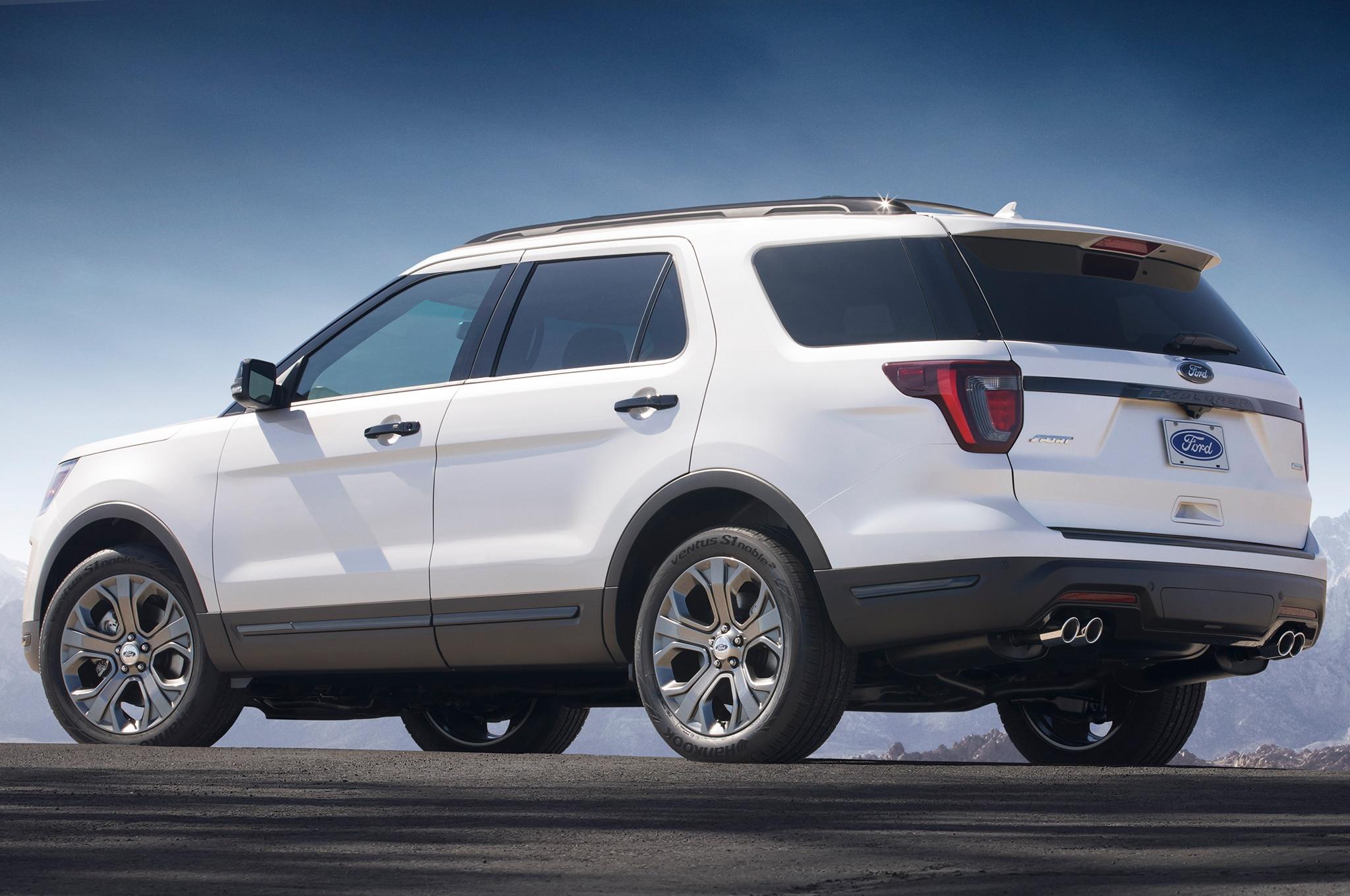 Ford Expedition El >> Ford Explorer 2018 recibe ligeros cambios - Motor Trend en Español