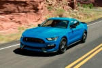 2018 Ford Shelby Mustang GT350 Front Three Quarter 150x100
