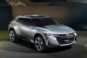 Chevrolet FNR X All Purpose Sports Concept Vehicle Front Three Quarter 1 300x200