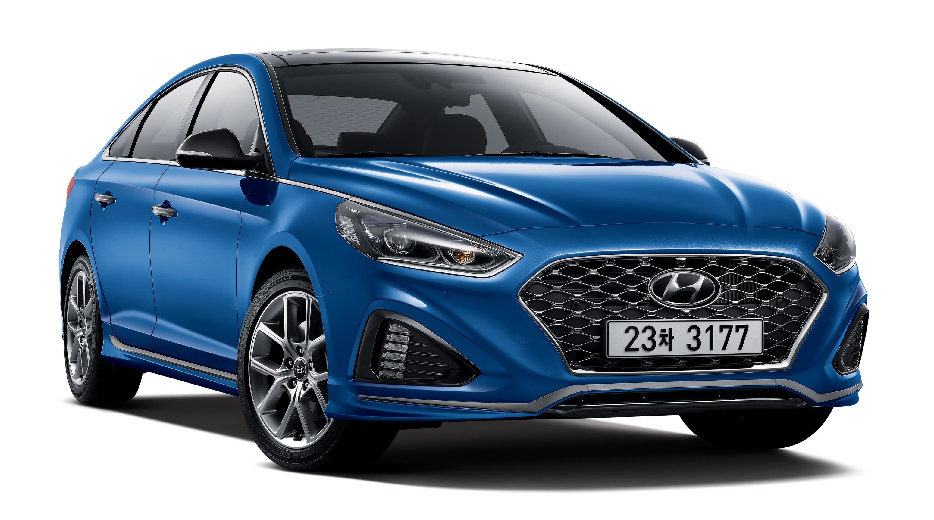 Hyundai Motor Unveils New Sonata In Korea_4 Turbo