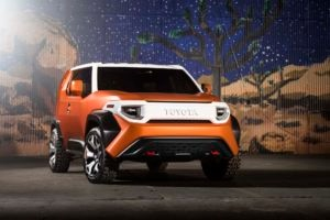 Toyota FT 4X Concept Front Three Quarters 300x200